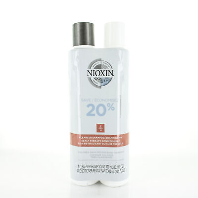 AU33.95 • Buy Nioxin System 4 Cleanser & Conditioner 10.1oz/300ml DUO