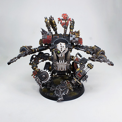 $319 • Buy Painted Miniature Deff Dread Warhammer 40K Magneted Weapons
