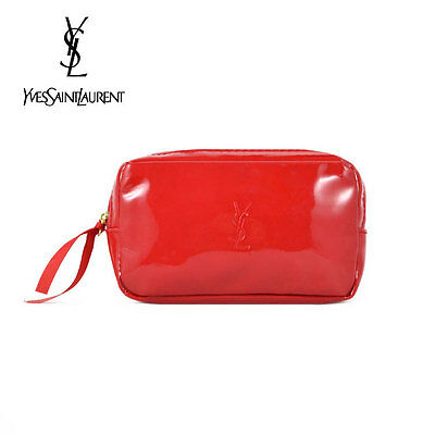 AU16.99 • Buy 1x YSL Red Makeup Cosmetics Bag, Small Size, Brand NEW!