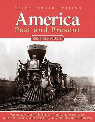 $4.06 • Buy America Past And Present, Brief Edition, Combined Volume (8th Edition)