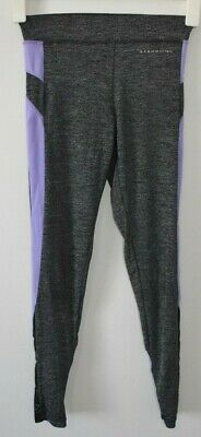AU24.50 • Buy OYSHO Pants Size XS Small Grey Purple Activewear Leggings