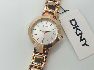 DKNY Stanhope Women's Rose Gold Tone Watch NY8833 • 39.99£