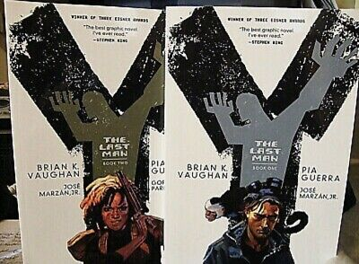 AU15 • Buy Y : The Last Man Book One And Two By Brian K. Vaughan (2014, Paperback)