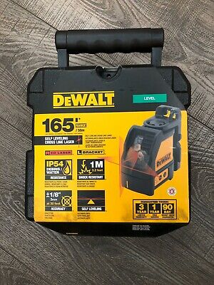 $119.99 • Buy DEWALT DW088K 165 Ft. Red Self-Leveling Cross-Line Laser Level