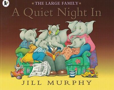 £3.99 • Buy Young Children's 'the Large Family' Picture Story Book: A Quiet Night In