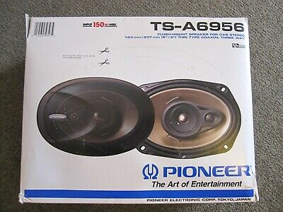 AU199 • Buy Pioneer Car Speakers Full Set Of 6 Front And Rear - Excellent Condition
