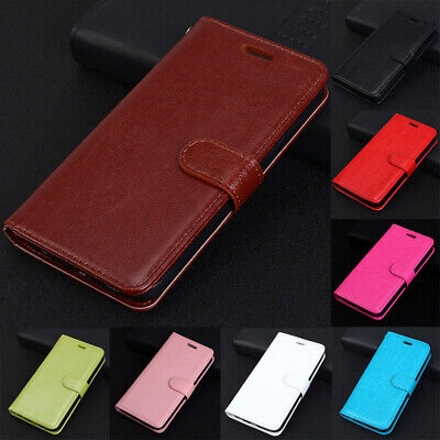 AU12.99 • Buy Magnetic Wallet Card S Lot KickStand Flip Leather Case Skin Cover For Phone