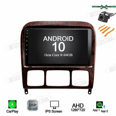 $339 • Buy 9  Android 10.0 Car Radio Stereo GPS NAVI For Benz S280 S320 S350 S400 S500 W220