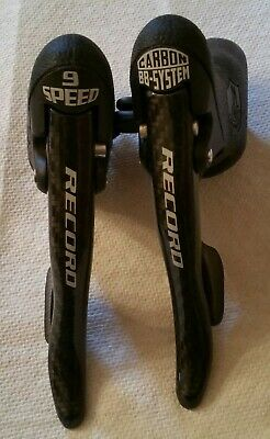 $219 • Buy Campagnolo Record 9 Speed Ergopower Shifters - Nos