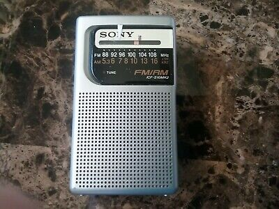 $6.99 • Buy Sony Walkman  AM  FM  Radio   Pre Owned,  Very  Nice Condition.