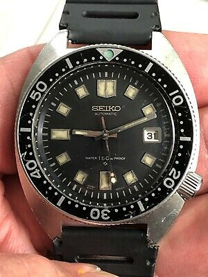 $ CDN1796.85 • Buy Vintage 1969 Seiko Diver Watch 6105-8000 Proof/proof 6105a Automatic Mvmt.