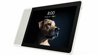 AU299 • Buy Lenovo 10  Smart Display With Google Home Assistant - White Front/Bamboo Back