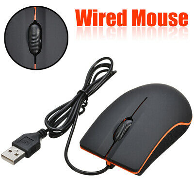 AU10.77 • Buy New Optical LED Wired Gaming Mouse Mice With USB Cable For PC Laptop Computer AU