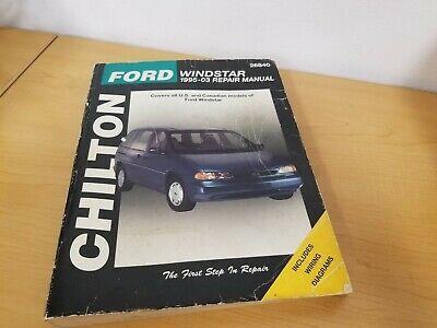 $8.46 • Buy Chilton Ford Windstar 1995-2003 Repair Manual - Free Same Day Ship'n