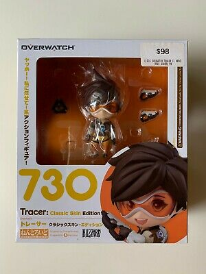 AU79 • Buy Overwatch Nendoroid #730 Tracer Classic Skin Edition 100% Authentic *new*