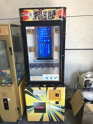 Coin Operated Pile Up Stacker Machine • 0.99£