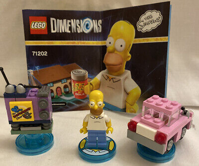 AU20 • Buy Lego Dimensions The Simpsons Level Pack  71202