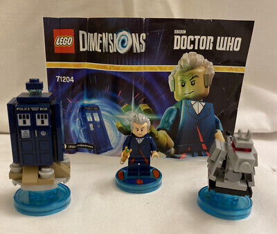AU19 • Buy LEGO Dimensions Dr Who Level Pack 71204 Tardis K-9 Sonic Screwdriver