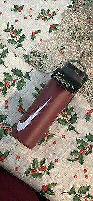$22.99 • Buy New Nike 24 OZ Stainless Steel Water Hydration Hypercharge Straw Bottle Training