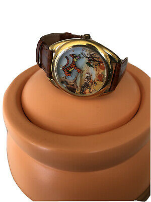 $70 • Buy NEW Disney Fossil Winnie The Pooh & Tigger Too Limited Edition Pumking Watch