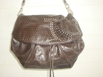 AU29 • Buy Mimco Lovely Brown Leather Handbag In Excellent Condition