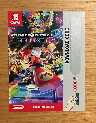 AU49 • Buy Mario Kart 8 Deluxe (Switch, 2017) - Download Code NEW. FREE Express Post