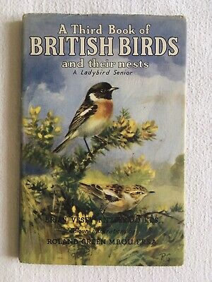 A Third Book Of BRITISH BIRDS And Their Nests Vintage Ladybird In Unclipped DJ • 39.65£