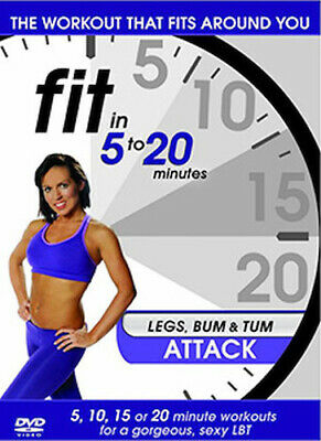 Fit In 5 To 20 Minutes - Legs Bum And Tum Attack Dvd [uk] New Dvd • 7.17£