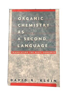 $8 • Buy Organic Chemistry As A Second Language: Translating The Basic... 9780471272359