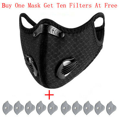 $ CDN11.13 • Buy Reusable PM2.5 Activated Carbon Respirator, For Outdoor Cycling And Hiking