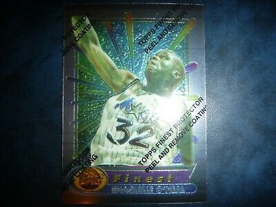 AU0.99 • Buy 94 95 Nba Topps Finest Shaquille O'neal Card! Mint With Peel