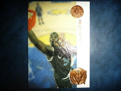 AU0.99 • Buy 94 95 Nba Sp Championship Shaquille O'neal Playoff Heroes Insert Card! Mint!