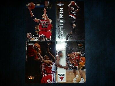 AU0.99 • Buy Lot Of (4) Nba Scottie Pippen Trading Cards!