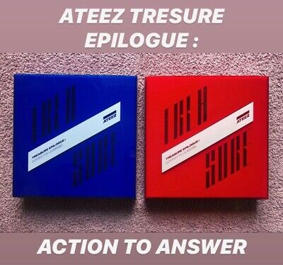ATEEZ 4th Mini Album Treasure Epilogue: Action To Answer • 15£