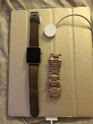 $ CDN94.41 • Buy Apple Watch Series 1 1st Generation 38mm Rose Gold. Turns On But Wont Boot Up