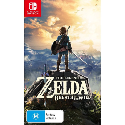 AU84 • Buy The Legend Of Zelda: Breath Of The Wild Preowned - Nintendo Switch - PREOWNED