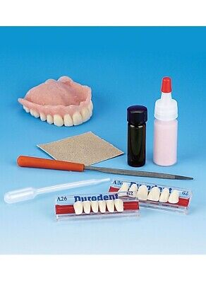 $19.95 • Buy False Teeth Repair!  Denture Repair Kit With Denture Teeth Included!
