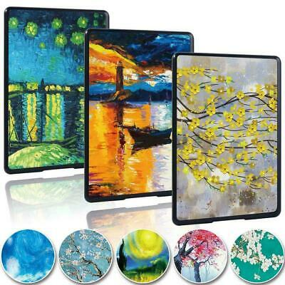 Slim Painting Tablet Cover Case For Amazon Kindle 8th 10th Paperwhite 1/2/3/4 • 4.99£