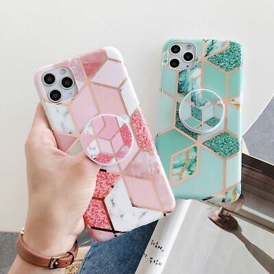 AU8.95 • Buy For Apple IPhone 11 Pro Max XR XS MAX X 7 8 PLUS Case Marble Ring Silicone Cover