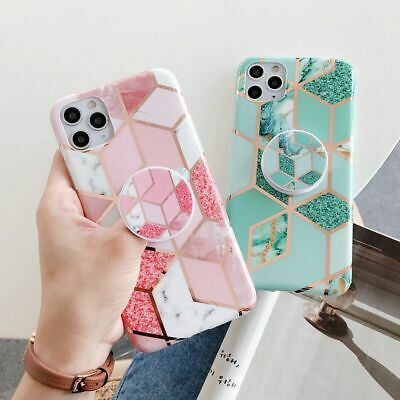 AU5.95 • Buy For Apple IPhone 11 Pro Max XR XS MAX X 7 8 PLUS Case Marble Ring Silicone Cover