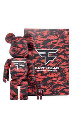 $240 • Buy *NEW* FAZE CLAN BE@RBRICK 400% And 100%