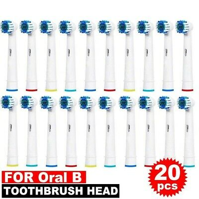 AU7.49 • Buy Electric Toothbrush Replacement Brush Heads X 20 Compatible For Oral B Braun