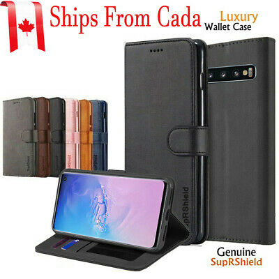 $ CDN8.38 • Buy For Samsung Galaxy S8 S9 S10 +Plus S10e Wallet Case Leather Magnetic Flip Cover
