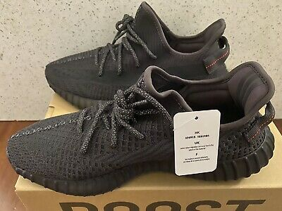 AU799 • Buy Yeezy Boost 350 V2 Black Non-reflective Size US 10. Brand New