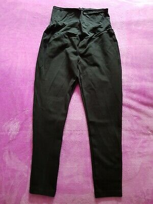 Gap Maternity Size M Over Bump Thick Leggings Trousers - Black • 10£