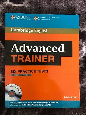 Advanced Trainer Six Practice Tests With 3CDs Cambridge English • 29.90£