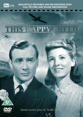 This Happy Breed DVD Robert Newton, Lean (DIR) Cert U FREE Shipping, Save £s • 19.48£