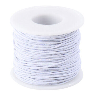$ CDN7.37 • Buy 50M Strong Stretch Elastic Cord Wire Rope Bracelet Necklace String Bead 1mm