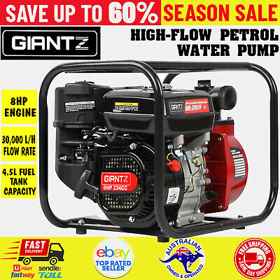 AU196.55 • Buy Fire Fighting Water Transfer Pump Firefighter High Fighter Petrol Irrigation 8hp