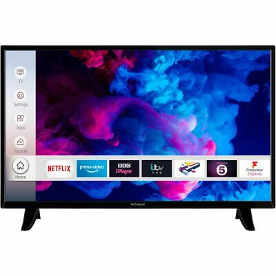 View Details Techwood 32AO9HD 32 Inch TV Smart 720p HD Ready LED Freeview HD 3 HDMI • 149.00£
